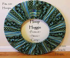 hoop huggie rainbow eye batik hoop huggie hula hoop carry bag bags