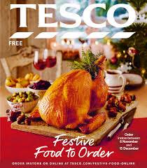 order thanksgiving dinner tesco festive food to order 2016 by tesco magazine issuu