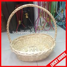 bulk gift baskets custom bulk wicker baskets for flowers or fruit buy bulk wicker