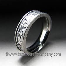 men u0027s wedding band collection u2014 buffalo craft company llc