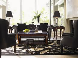 Lexington Dining Room Set by Lexington Lexington Leather Westchester Tufted Back Sofa John V