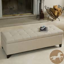 Arlington Lift Top Storage Ottoman Christopher Knight Home Mission Beige Tufted Fabric Storage