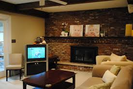 living room brick paint fireplace painted brick fireplace living