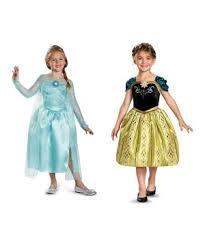 Anna Elsa Halloween Costumes Disney Frozen Anna Inspired Girls Sweet Princess Halloween Costume