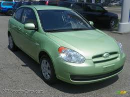 3 door hyundai accent 2010 hyundai accent gs 3 door in apple green 182167