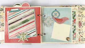 diy scrapbook album artsy albums christmas diy or premade mini album kit pre cut