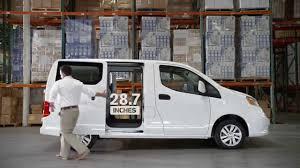 nissan cargo van 2015 nissan nv200 compact cargo van youtube
