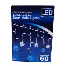 lights led lights 60 led color changing icicle