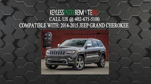 how to replace jeep grand cherokee key fob battery 2014 2015 youtube