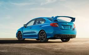 subaru blue 2017 subaru to offer limited edition series hyperblue brz and wrx sti