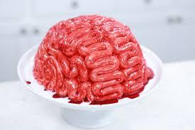 how to make a zombie brain cake rosanna pansino