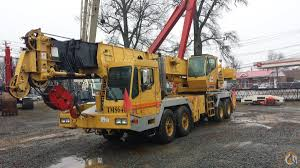 sold grove tms640 mcclung logan crane u0026 equipment crane for on