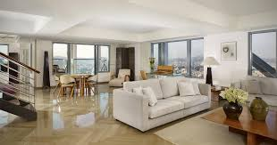 royal duplex luxury apartment living room hotel arts barcelona