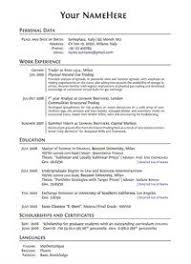 Electronic Resume Sample by This Is What A Good Resume Should Look Like Careercup Website