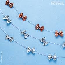 diy festive metallic garland today s parent