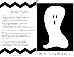 phantom ghost poem we u0027ve been booed so festive