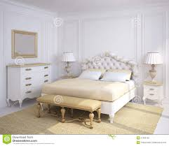 White Classic Bedroom Furniture Classic Bedroom Interior Royalty Free Stock Photos Image 21493108