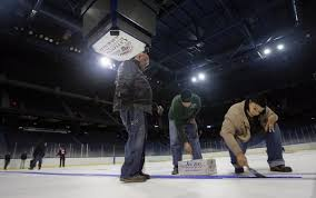 ontario how a hockey rink becomes a basketball court in just one