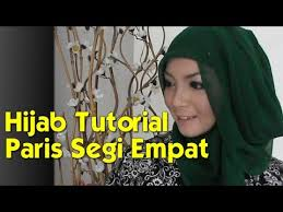 video tutorial turban style hijab tutorial paris segi empat modern dan simple hijab tutorial