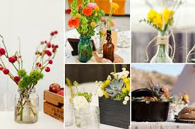 Rustic Backyard Party Ideas Five Centerpieces For A Backyard Party At Home With Kim Vallee