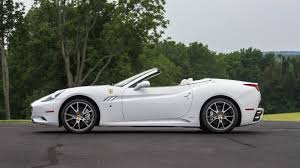 Ferrari California White With Red Interior - 2010 ferrari california convertible s114 1 monterey 2017