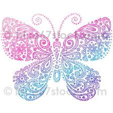 paisley butterfly henna paisley butterfly