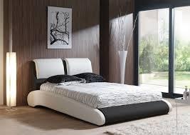 Chambre Adulte Design Moderne by Lit Adulte Design En Pu Blanc Et Noir Brita Lit Adulte Chambre