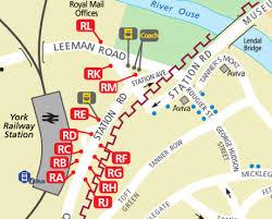 road map of york railway station interchange i travel york
