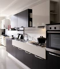 kitchen space saving modern kitchen cabinet combined with thick