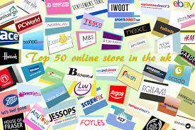 the top 50 online shops in the uk