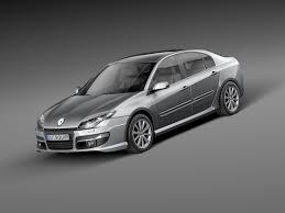 new renault megane sedan laguna 2011 sedan 3d model