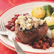 Dinner Ideas For Valentines Day At Home Peppered Filets With Cherry Port Sauce For 2 Recipe Taste Of Home