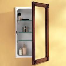 Bathroom Medicine Cabinet With Mirror Lighted Medicine Cabinet Home Depot Image Of Lighted Medicine