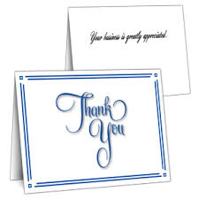 business thank you cards corporate thank you cards