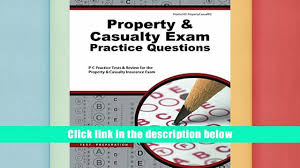 read online property casualty exam practice questions p c