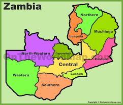 Zambia Africa Map by Zambia Maps Maps Of Zambia