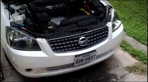 2006 nissan altima jdm k u0026n cai installation 2 5 altima youtube