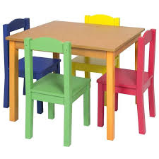 kids wooden table and chairs set desk and chair set for toddlers