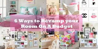 6 ways to revamp your room on a budget