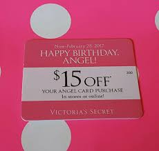 nice victoria u0027s secret 15 off happy birthday card online code