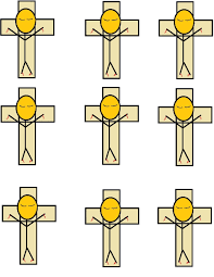 jesus died on cross craft