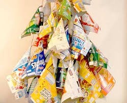 Food Decorations For Christmas Tree by 21 Ideas For Making Alternative Christmas Trees To Recycle Clutter
