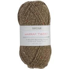 sirdar gallop harrap tweed double knit yarn 50 g hobbycraft