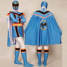 Power Rangers Halloween Costumes Adults Blue Power Rangers Mystic Force Cosplay Halloween Costumes