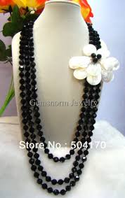 handmade long necklace images New handmade 13 18mm stone beads necklaces 60 quot inches long fashion jpg