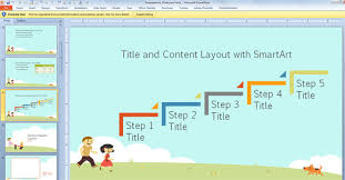 cartoon powerpoint template free download free children powerpoint