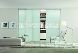 Sliding Closet Doors For Bedrooms by Bedroom New Cool White Chair And Arch Floor Lamp Feat White