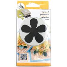 ek tools punch retro flower large walmart com