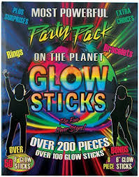Glow In The Dark Party Decorations Ideas Glow In The Dark Party Decorations Amazon Com