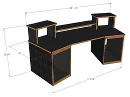 Pc Desk Ideas Best 25 Recording Studio Desk Ideas On Pinterest
